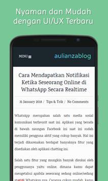 Aulianza Blog screenshot 1