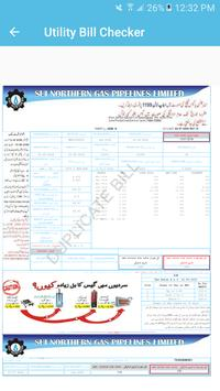 Sui Gas Bill Checker screenshot 3