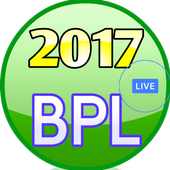 Schedule for BPL  2017 icon