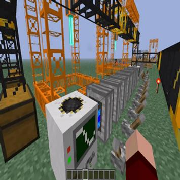 Build Craft Mod for MCPE poster