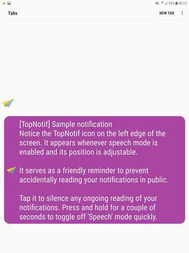 TopNotif: Read & Preview, Notifications & CallerID apk screenshot
