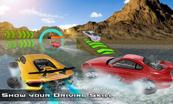 Water Surfer Car : Floating Car Driver Racing Game for Android - APK on