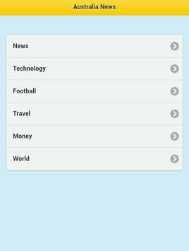 Australian News apk screenshot
