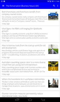 Australia Business News apk screenshot