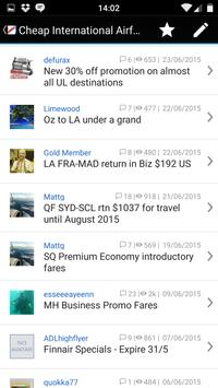 Aust Freq Flyer for Android screenshot 2