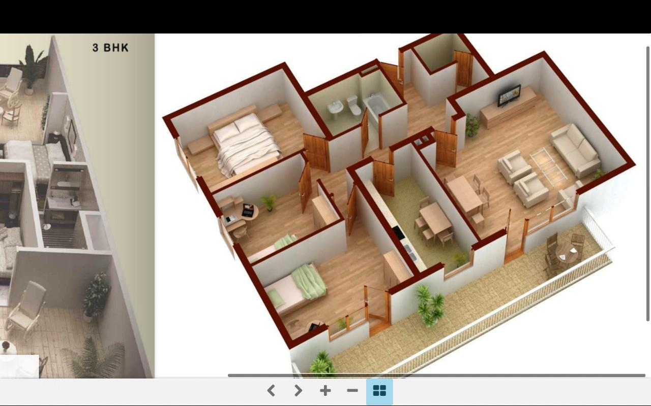 3D Home Plans For Android