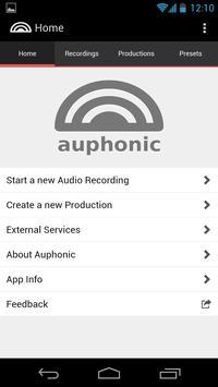 Auphonic Audio Recorder poster