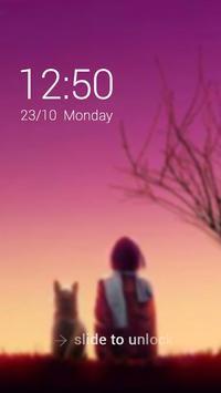 Miss You Theme – AppLock apk screenshot