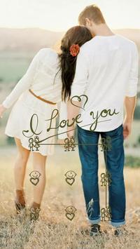 Lovers Theme – AppLock poster