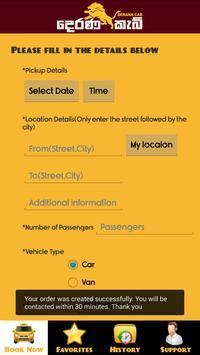 Derana Cab screenshot 2