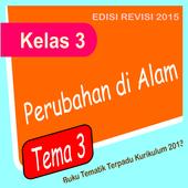 Buku Kelas 3 Tema 3 edisi revisi icon