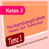 Buku Kelas 3 Tema 1 edisi revisi icon