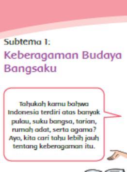 Buku Kelas 4 Tema 1 edisi revisi apk screenshot