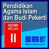 PAI dan BP SD/MI Kelas 2 edisi revisi icon