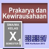 Prakarya Kelas 10 semester 1 SMA Revisi icon