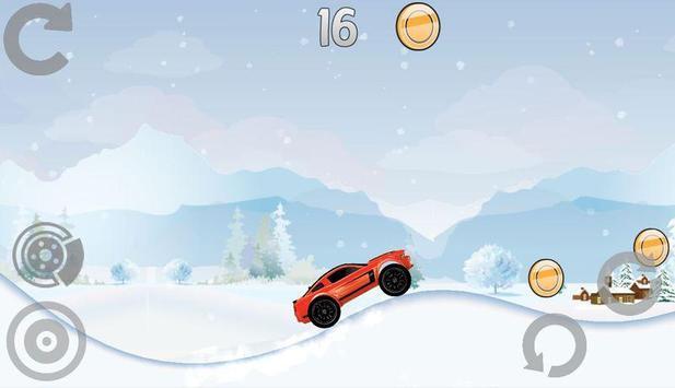 Hill Racing: Mad Monster Truck screenshot 1