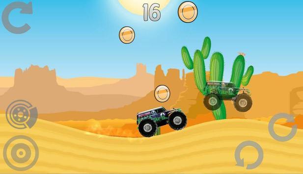 Hill Racing: Mad Monster Truck screenshot 2