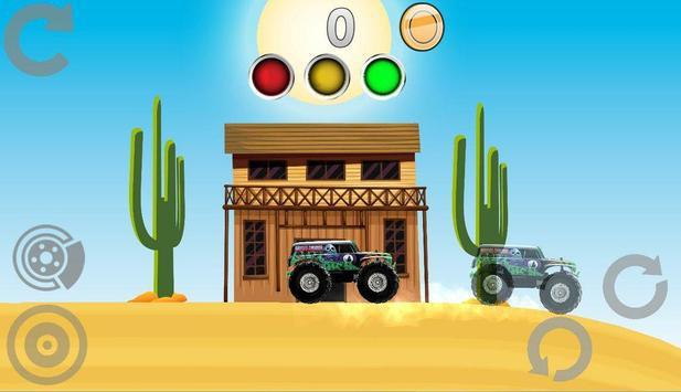 Hill Racing: Mad Monster Truck screenshot 7