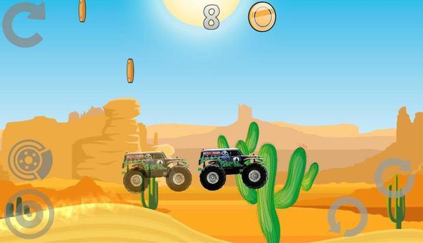 Hill Racing: Mad Monster Truck screenshot 4