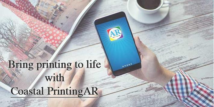 Coastal Printing AR poster