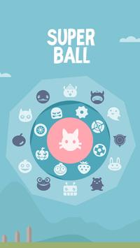 SUPER BALL poster