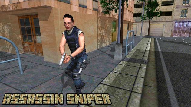 Sniper Assassin : Army Attack poster