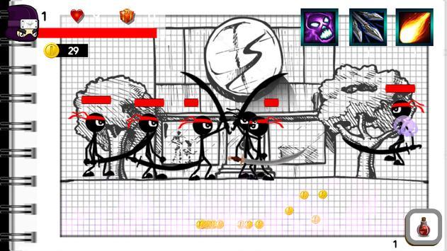 Stickman Warriors Hero apk screenshot