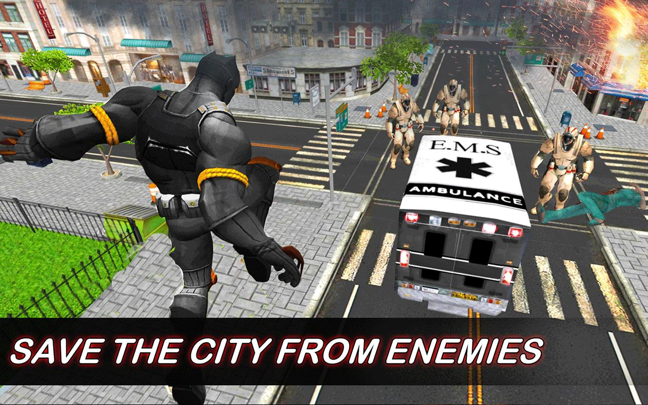 Real Superhero Panther Flying City Rescue Mission for Android - APK Download