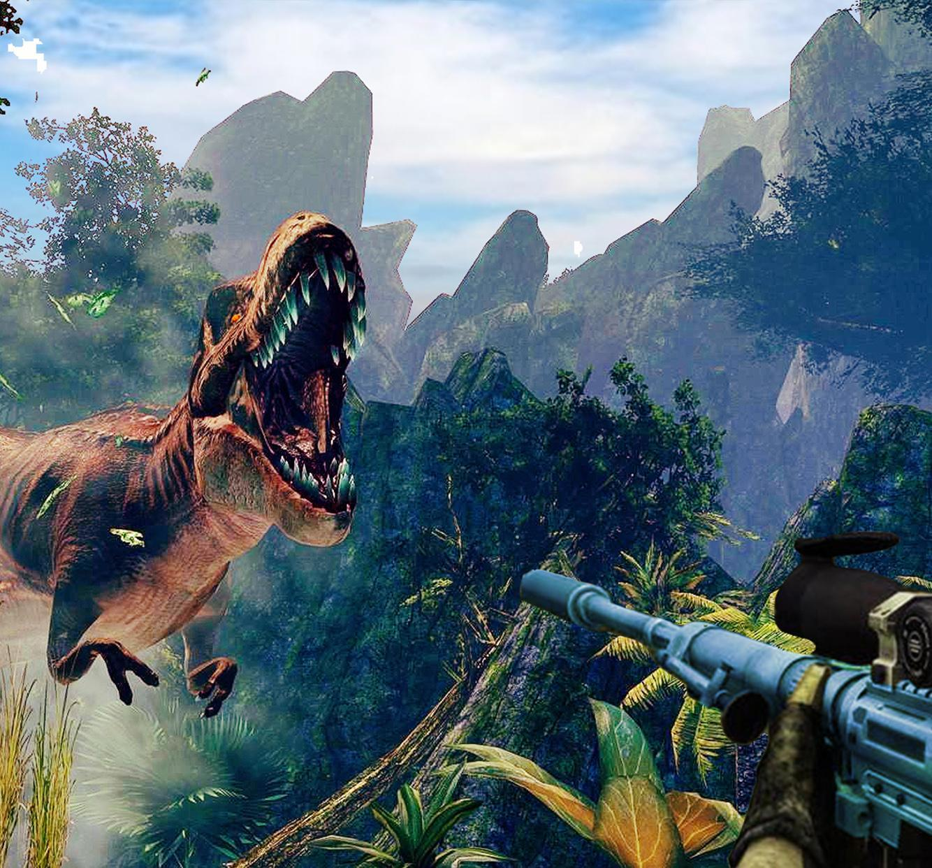 Dinosaur Hunter 2018: dino shooting game 3D for Android