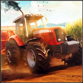 New Tractor Farming Transport Cargo Driving Game icon