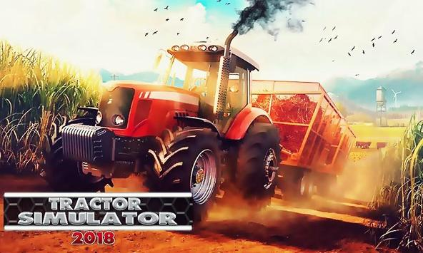 New Tractor Farming Transport Cargo Driving Game poster