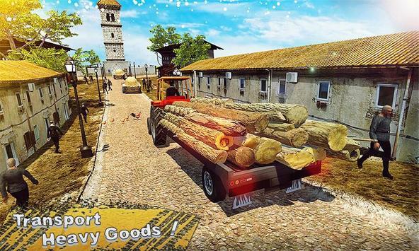 New Tractor Farming Transport Cargo Driving Game screenshot 1
