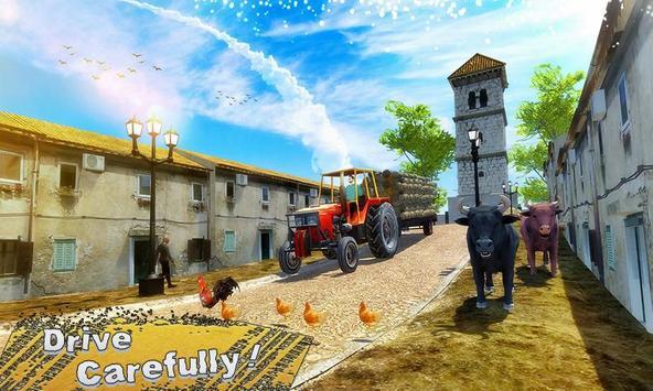 New Tractor Farming Transport Cargo Driving Game screenshot 2