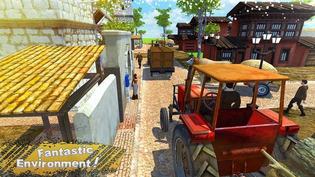 New Tractor Farming Transport Cargo Driving Game screenshot 3