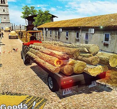 New Tractor Farming Transport Cargo Driving Game screenshot 5