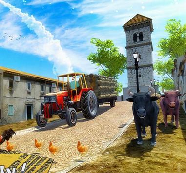 New Tractor Farming Transport Cargo Driving Game screenshot 6