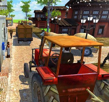 New Tractor Farming Transport Cargo Driving Game screenshot 7