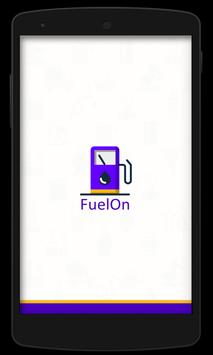 FuelOn - Offers On Fuel Filling poster