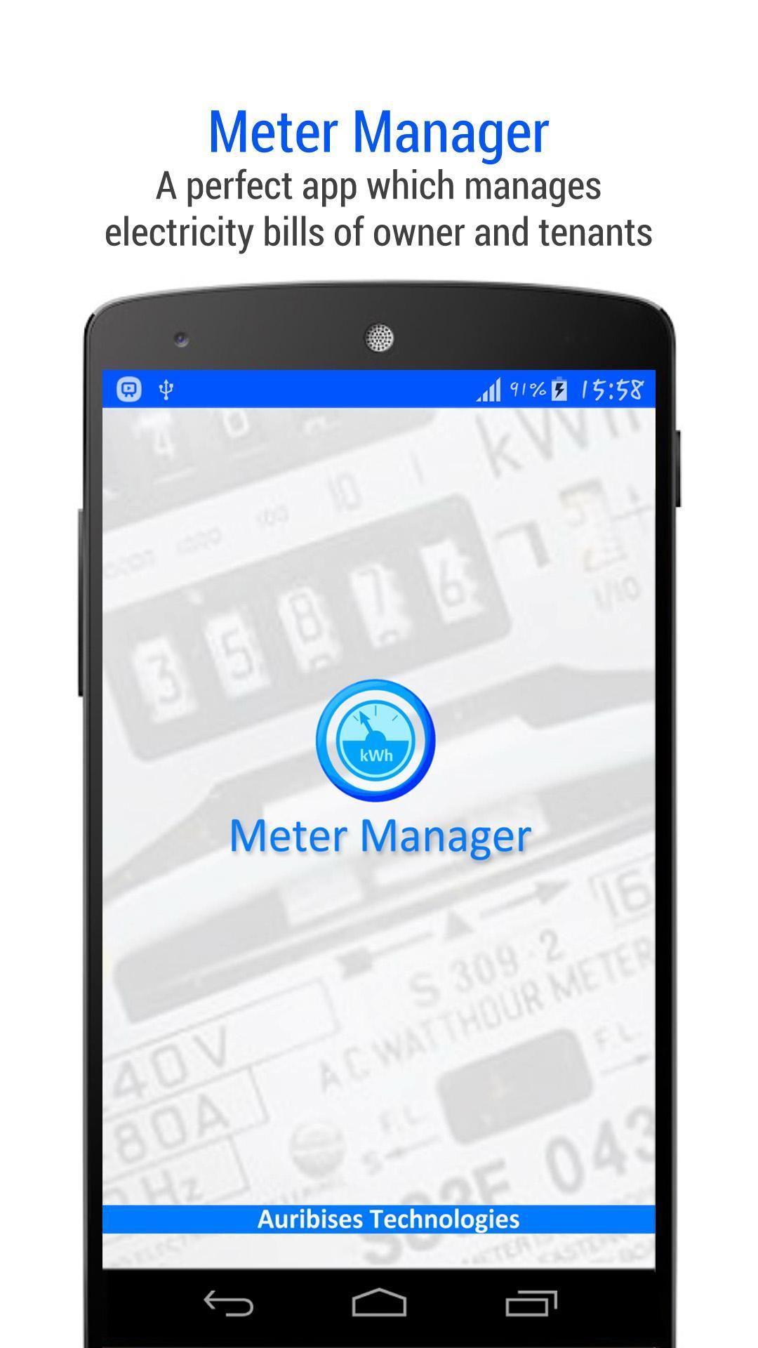Meter Manager для Андроид - скачать APK