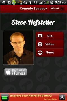 Steve Hofstetter - Comedian poster