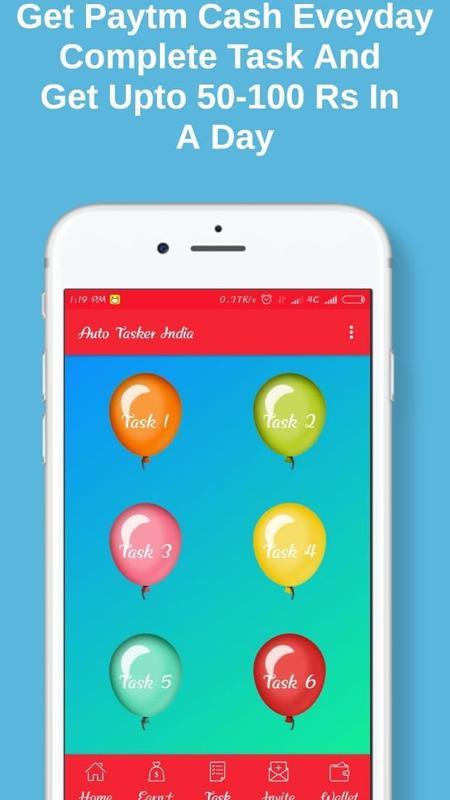 Auto tasker india ~ earn real true money apk download latest.