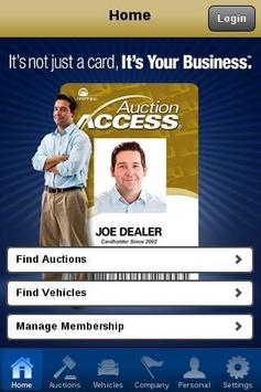 AuctionACCESS Mobile poster