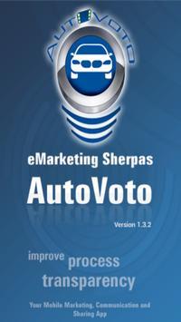 AutoVoto poster