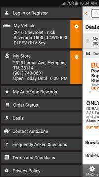 AutoZone apk screenshot