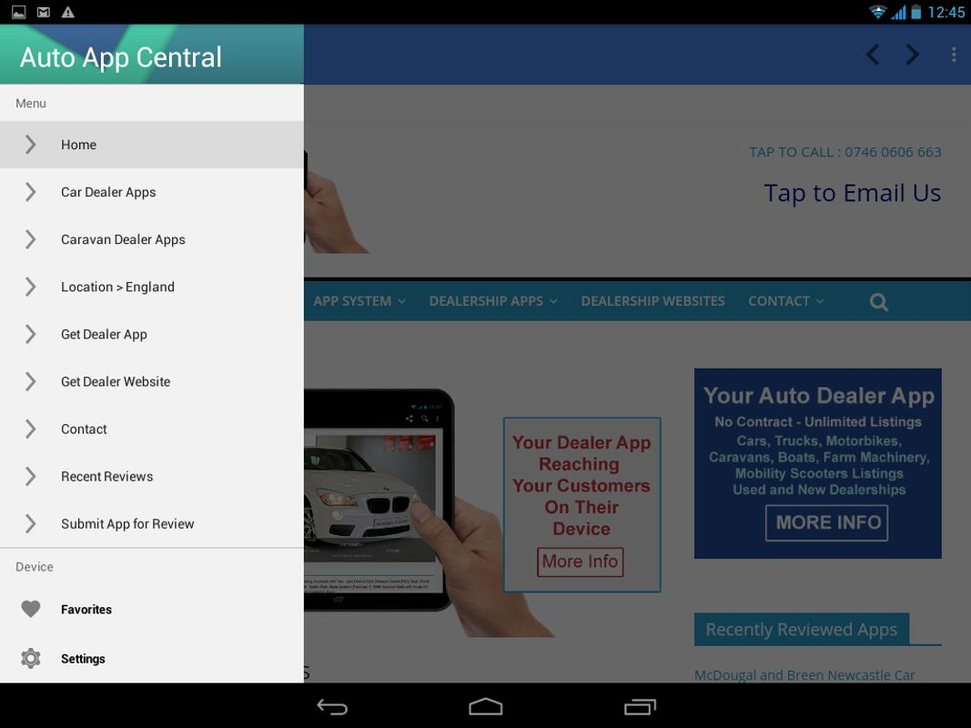 Auto App Central APK Download - Free Business APP for Android ...
