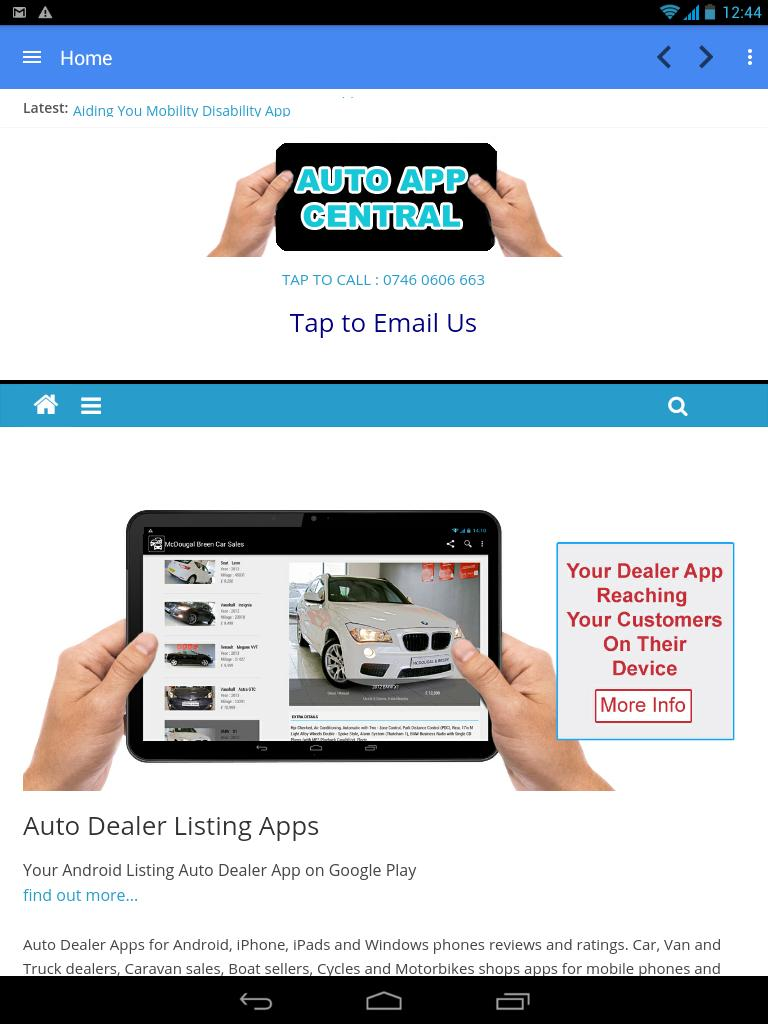 car sales app android