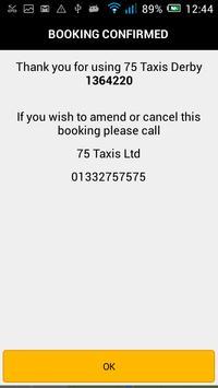 75 Taxis Derby apk screenshot