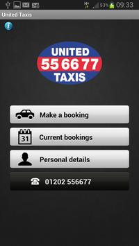 United Taxis poster