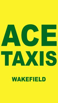 Ace Taxis Wakefield poster