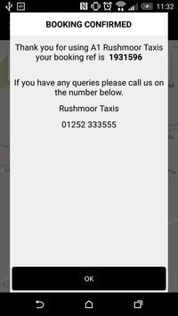 A1 Rushmoor Taxis screenshot 4